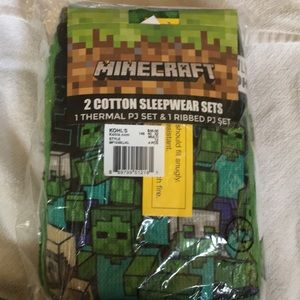 Other - Minecraft cotton 2 pajama sets